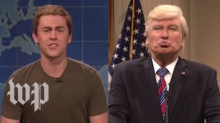 SNL goes after Trump, Zuckerberg