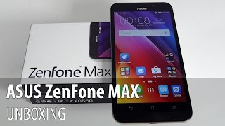 ASUS ZenFone Max Unboxing (5000 mAh Battery Phone) - GSMDome.com