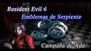 Resident Evil 6 - Emblemas Serpiente - Campaña de Ada - Logro: Reliquias