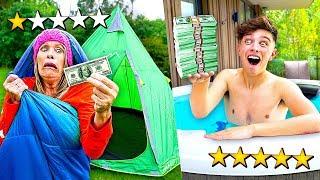 $100 HOLIDAY vs $10,000 HOLIDAY - Challenge