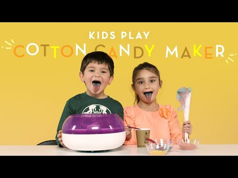 Kids Play with a Cotton Candy Maker Kids Play HiHo Kids