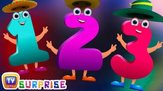 Surprise Eggs Toys for Learning Numbers - Learn To Count 1 to 10 | ChuChu TV Egg Surprise for Kids
