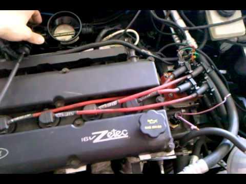Uma das primeiras partidas do novo motor do Escort Zetec