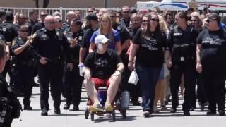 Police Officer Matt Pearce Leaves JPS Hospital