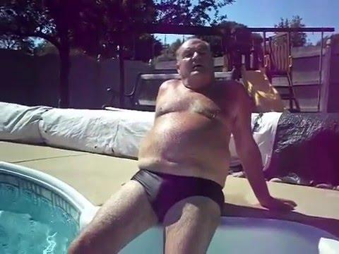 Hot Grandpa in speedos