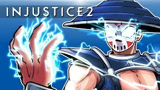 INJUSTICE 2 - RAIDEN CHARACTER DLC! Vs Cartoonz!