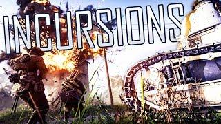 TANK Destruction and MORTAR Blasting! - Battlefield 1 Incursions Gameplay - Pre-Alpha