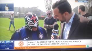Sky sport 24 intervista di Rey Mysterio! 20/3/14