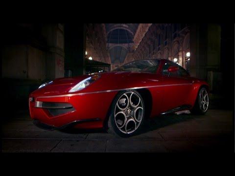 Alfa Romeo Disco Volante Top Gear Series 21 BBC
