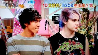 5 Seconds Of Summer Live At The Japan TV (sub español)