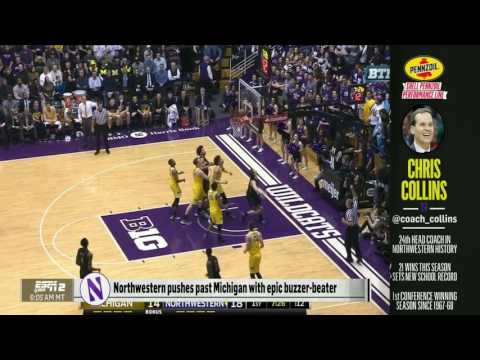 Men s Basketball Collins on Mike & Mike 3 2 17
