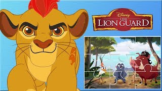 The Lion Guard Cartoon Clips Puzzles  - Disney Junior App For Kids