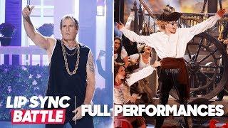 """Pete Davidson's """"Jack Sparrow"""" vs. Michael Bolton's """"Gangsta's Paradise""""   Lip Sync Battle"""