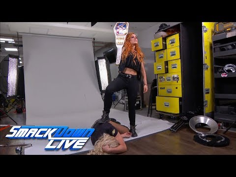 Xxx Mp4 Becky Lynch Attacks Charlotte Flair During A Photoshoot SmackDown LIVE Sept 25 2018 3gp Sex