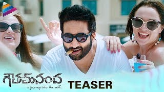 Goutham Nanda Telugu Movie Teaser | Gopichand | Hansika | Catherine Tresa | Thaman | Sampath Nandi
