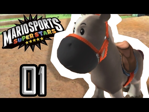 J ADOPTE UN CHEVAL MARIO SPORTS SUPERSTARS 01