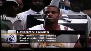 Lebron James slam dunk competition: 2003