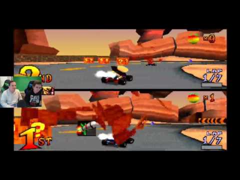 Xxx Mp4 Twitch Livestream Crash Team Racing PS1 3gp Sex