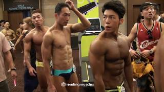 WBFF Asia Korea 2016 Backstage 1