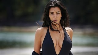 Kim Kardashian Stuns in Sexy Swimsuit, Says She's the Family's 'Puppet Master'