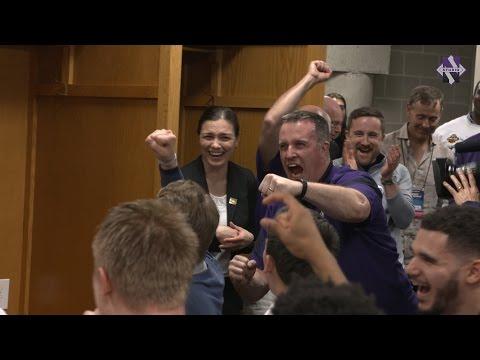 Men s Basketball Coach Fitz Invades Locker Room 3 16 17