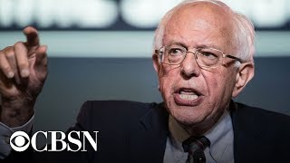 Bernie Sanders press conference live stream: plans to erase student debt by taxing Wall Street