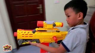 Đồ Chơi Bắn Súng Nerf Cuộc Chiến Siêu Súng : Nerf War