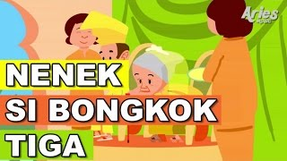 Lagu Kanak Kanak Alif & Mimi - Nenek Nenek Si Bongkok Tiga (Animasi 2D)