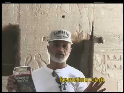 Ashra Kwesi Explains the Origin of Adam & Eve Story at the Ramesseum in Kemet Egypt