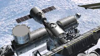 SpaceX Next - Crew Transport to ISS (simulation)