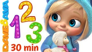 🔥 Learn Numbers and Counting | Count 1 to 10 | Nursery Rhymes and Number Songs from Dave and Ava 🔥