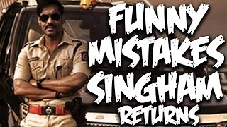 Everything Wrong with Singham Returns Movie   Bollywood Mistakes   Episode #28