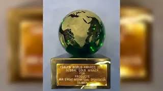 O'right歐萊德 X Green World Award 2017