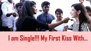 I am Single and my first kiss with|Open talk|Random questions|Puthu Aayudham