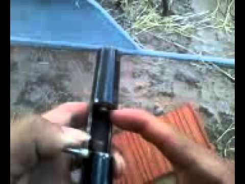 arma casera cal.22 hecha por mi
