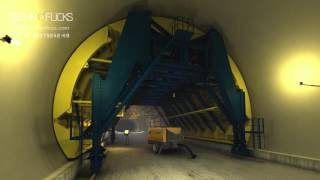NATM Tunnel Formwork - Technical Animation
