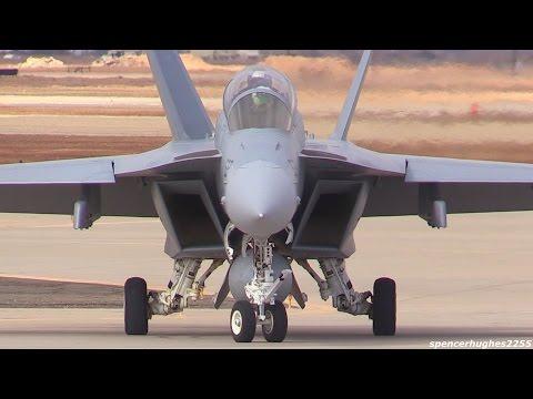 F/A-18 Super Hornet & Growler POWER !!!