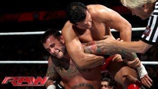 CM Punk vs. Alberto Del Rio; Brock Lesnar attacks Punk: Raw, June 17, 2013