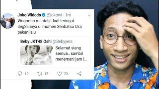 NGABUBURIT RANDOM #1 - Presiden Jokowi Fans Beby JKT48 ?