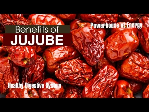 Top 10 Health BENEFITS OF JUJUBE FRUIT