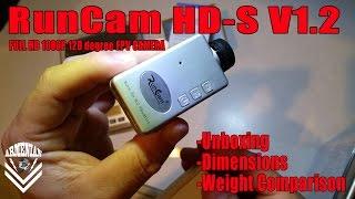 RunCam HD-S v1.2  Full HD 1080P Wide Angle Mini FPV Camera Unboxing