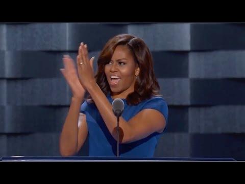 Michelle Obama praises Hillary Clinton at the DNC 2016 Full speech