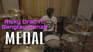 Ricky Drac ft Sangtei Renza - MEDAL ( Drum cover) Mamoia Colney ft Eric Renza (FULL HD)