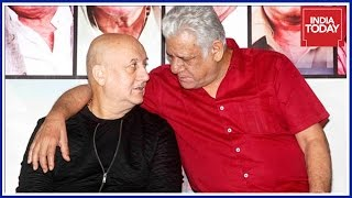 Actor Anupam Kher Reacts On The Death Of Om Puri