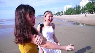 Duy Thường || Bình Minh Ở Biển Có Gì Khác Lạ - Beautiful girl and sea