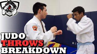 How to do a Judo Throw Hip Toss: Hane Goshi