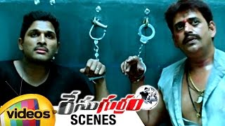 Allu Arjun Gets Powers   Climax Scene   Race Gurram Movie Scenes   Shruti Haasan   Mango Videos