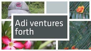 Adi ventures forth
