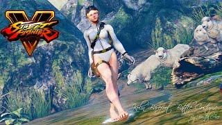 Street Fighter 5 mods Kolin barefoot