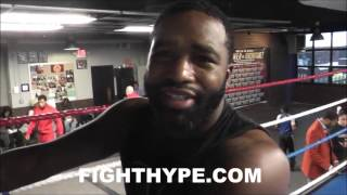 ADRIEN BRONER SENDS CONOR MCGREGOR A MESSAGE; DEBATES HOW A FIGHT IN RING AND CAGE PLAYS OUT